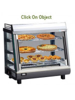 Countertop and Upright Heated Display Cabinet
