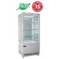Exquisite Counter Top Display Chiller CTD78-LED, White, 86 Litre
