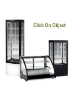 Countertop & Upright Food & Drinks Display Cabinets