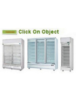 Upright Display Chillers & Freezers